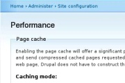 drupal performance screen
